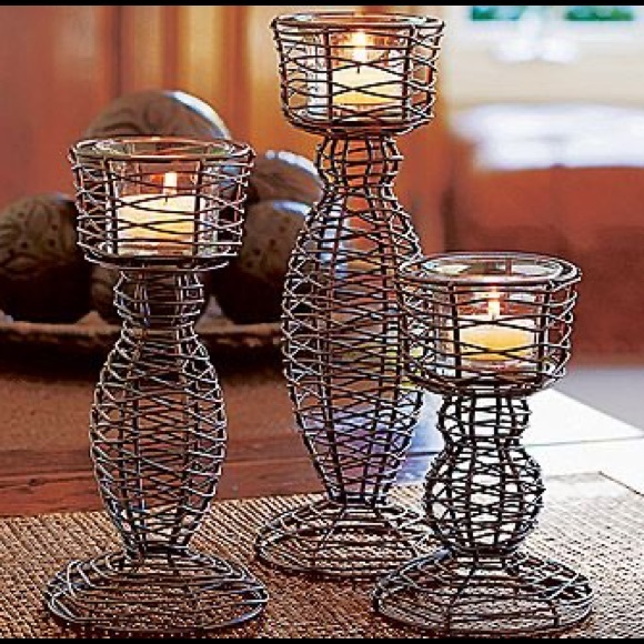 PartyLite Trio Candle Holder